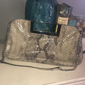 Snake Skin bag by Michael Kors